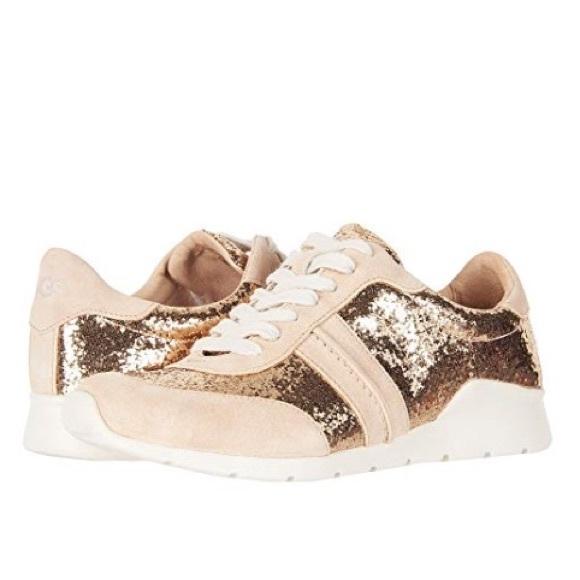 f29e7f7cf2f ❤️New Ugg Jaida Glitter Gold sneakers size 11 NWT